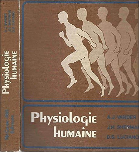 En ligne Physiologie Humaine pdf ebook