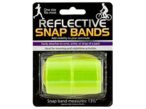 Reflective Snap Bands Set (Available in a pack of 24) by D&D