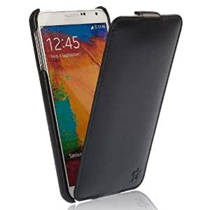 Galaxy Note 3 Case - Black Leather Prestige Collection