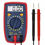 Digital Multimeter, Liumy AC/DC, Current, Voltage, Resistance Digital Meter/Tester with Ohm Volt Amp & Diode Test, for Household Outlets, Fuses, Vehicle Battery, Charging System, Automotive Circuits