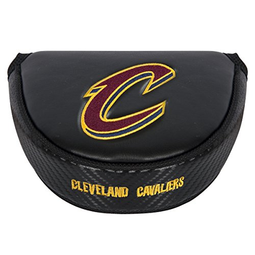 Team Effort NBA Cleveland Cavaliers black Mallet Putter Coverblack Mallet Putter Cover, NA by Team Effort