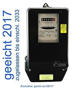 Contador eléctrico (10(40) A, tarado 2013 (máximo 27,6 kW))