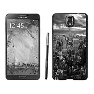 Personalized Phone Case New York Empire State Building Black White Galaxy Note 3 Wallpaper