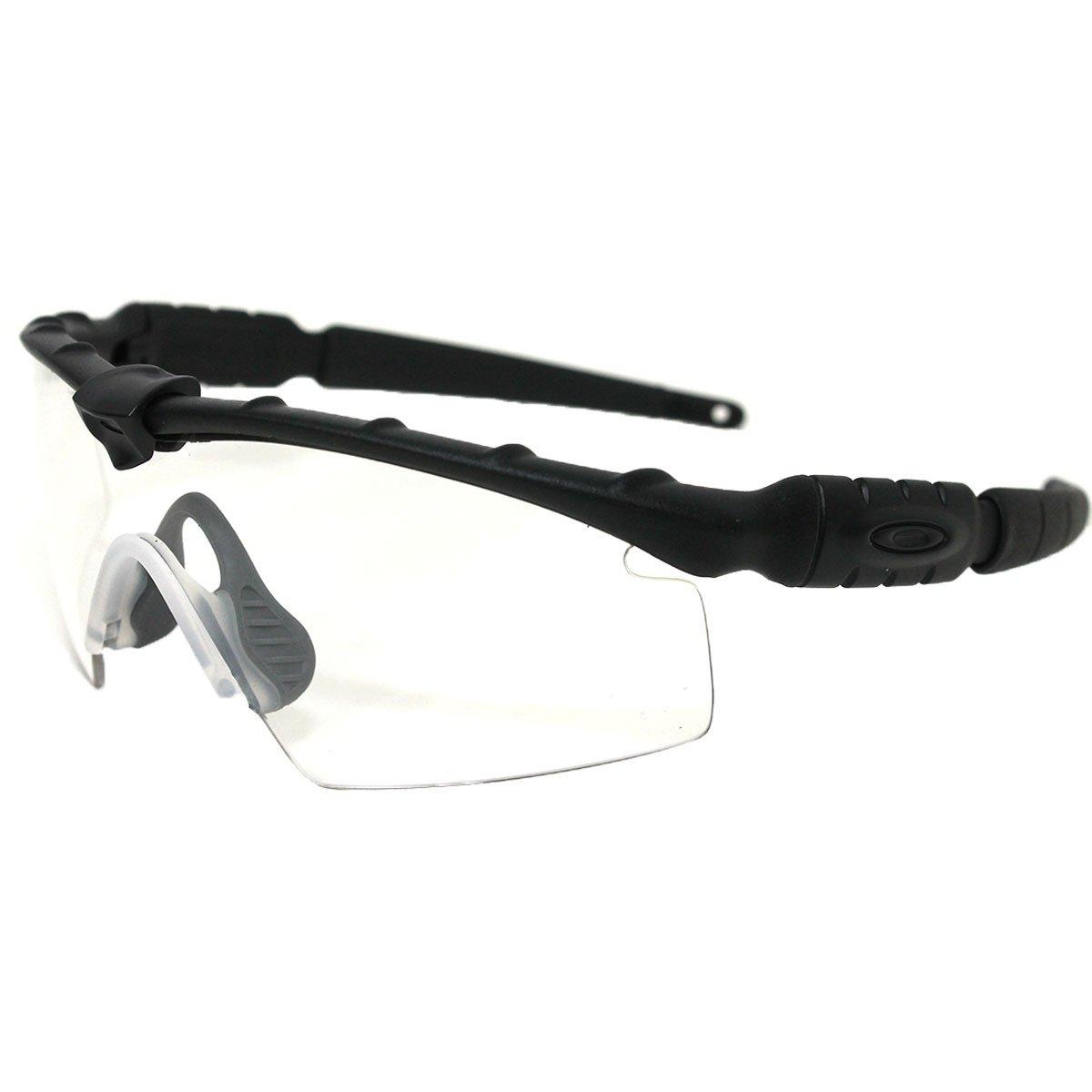 Oakley Men's Ballistic M Frame 2.0 Rectangular Sunglasses, Matte Black, 32 mm by Oakley