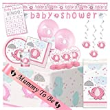 Baby Shower Ultimate Party Pack from Pink Umbrellephants Range (16 Guest)