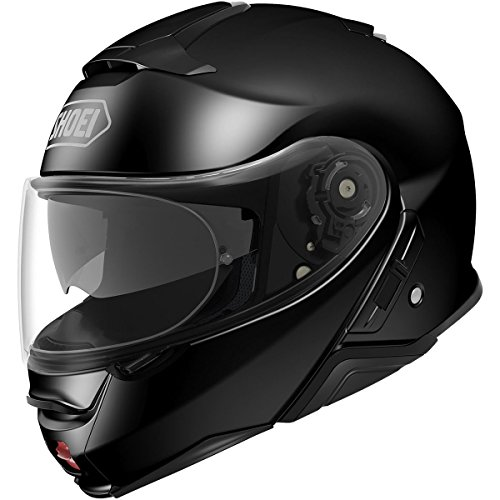 Shoei Solid Neotec 2 Modular Motorcycle Helmet - Black/Large -  0116-0105-06