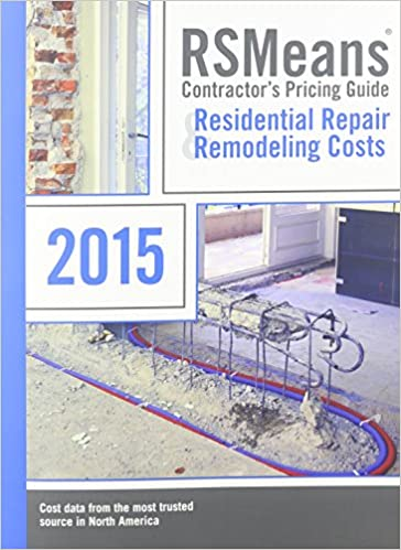 RSMeans Contractor's Pricing Guide Residential Repair