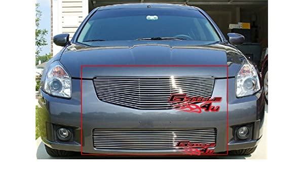 APS Compatible with 2003-2008 Nissan Murano Billet Grille Combo S18-A91878N