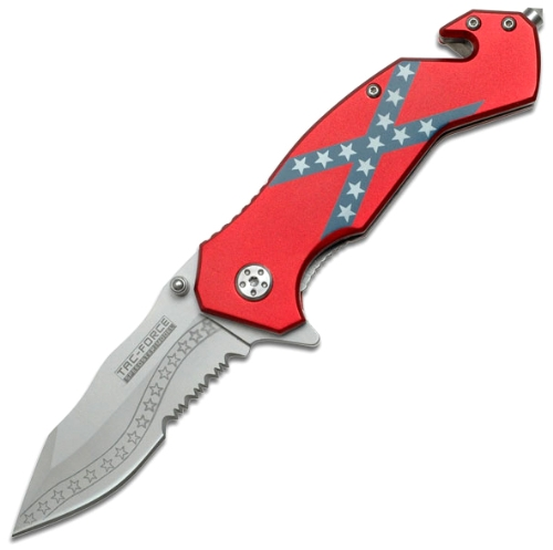 Tac Force TF-663DF Assisted Opening Folding Knife 4-Inch Closed, Outdoor Stuffs