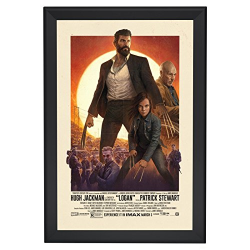 SnapeZo Movie Poster Frame 27x40 Inches, Black 1.7