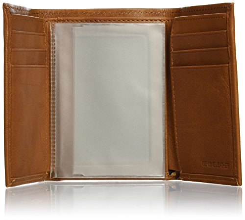 NFL Embossed Genuine Cowhide Leather Trifold Leather Wallet