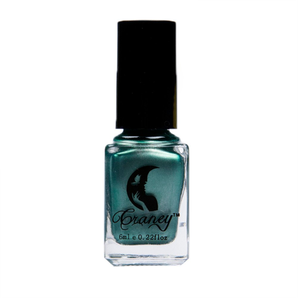 ❀ Euone Clearance Sales ❀,Mirror Nail Polish Plating Silver Paste Metal Color Stainless Steel Green