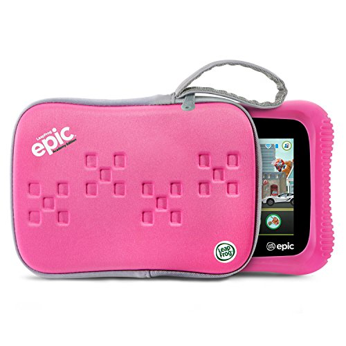 LeapFrog Epic Academy Edition 7'' Android 2.0 Based Kids Tablet 16GB with Carrying Case, Pink by LeapFrog (Image #1)