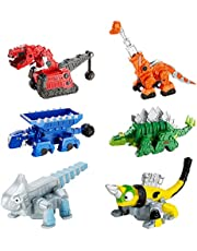 Dinotrux Bundle - Ty Rux, Garby, Ton-Ton, Skya, Revvit & Ace Die-Cast Vehicles