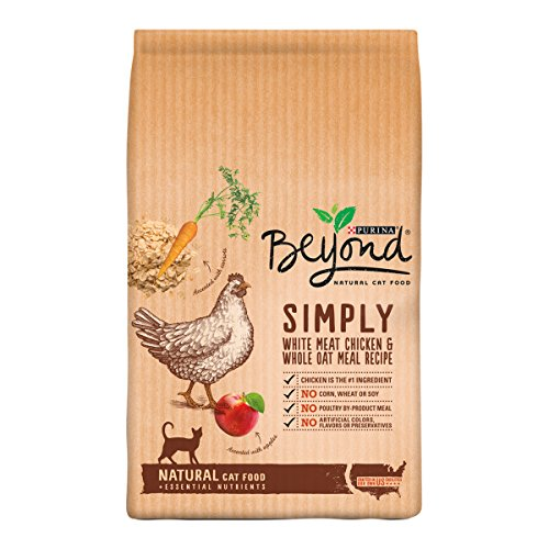 Beef Meal Barley (Purina Beyond Natural Dry Cat Food, White Meat Chicken and Whole Oat Meal Recipe, 13-Pound bag, Pack of 1)