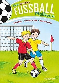 Buntes Malbuch Fußball Training Spiel Fans Und Pokale Malbücher