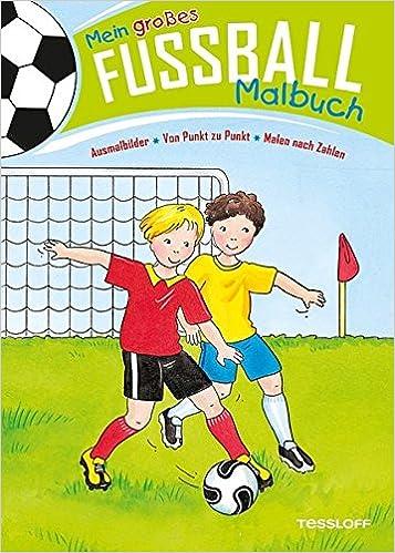 Mein Grosses Fussball Malbuch Ausmalbilder Von Punkt Zu