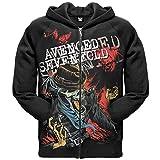 Old Glory Avenged Sevenfold - Screaming Zip Mens Hoodie Medium Black