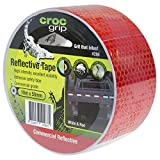 CROC grip Red & Silver Reflective Tape - 50mm x 10m