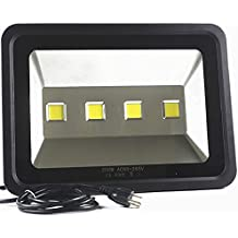 LED Flood light Waterproof Outdoor Lighting - AI YONG LED 200W Street lamp Equivalent to 1000W Halogen Bulb SUPER BRIGHT 6000k White Light 85-265V 50,000 Hrs Lifetime 20,000 lm,2-Year Warranty