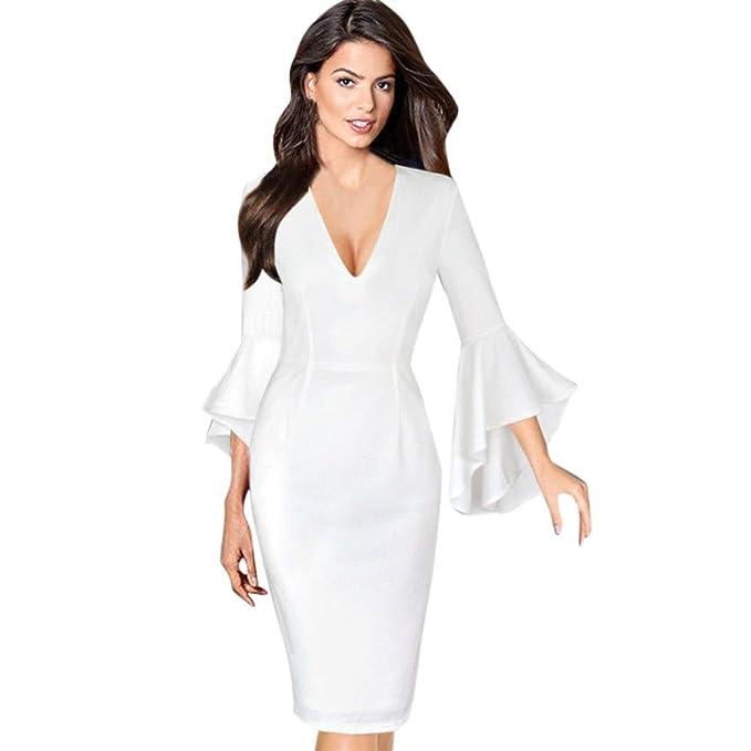 Vestidos de mujer de manga larga