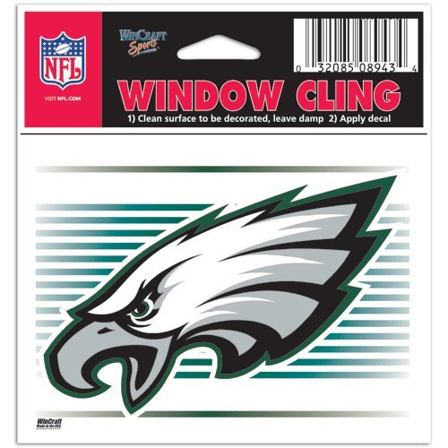 philadelphia eagles window decal - 8