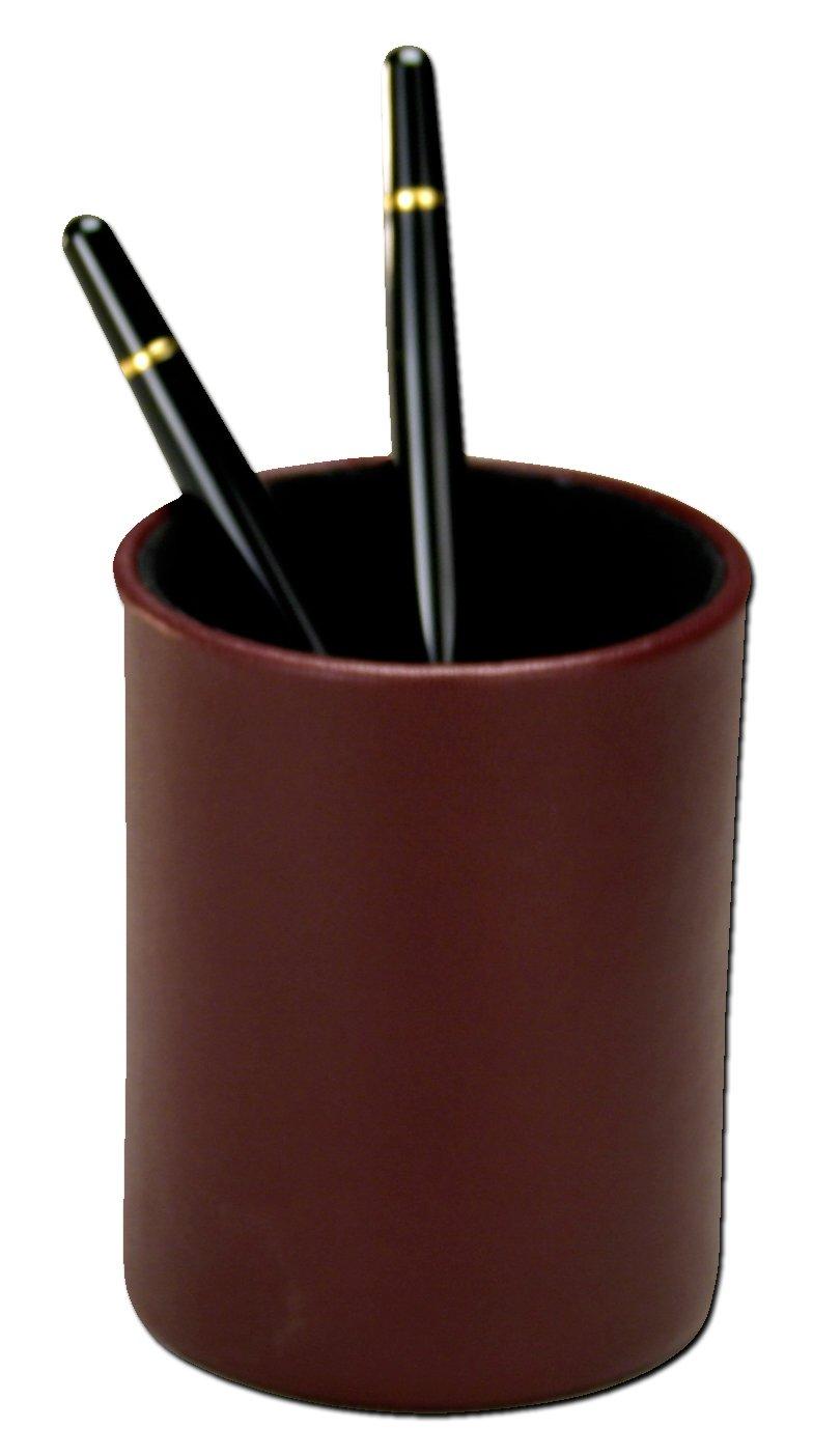Dacasso Bicolore Round Pencil Cup Bordeaux