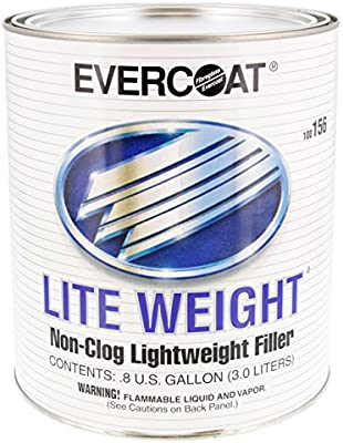 Evercoat Fibreglass (Fib159) Lite Weight 3 Body Filler 3 Gal