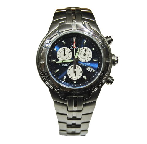 Reloj Hombre Lotus ref. 15246/6 En Acero satinato quadrante blu cronografo Con Fecha