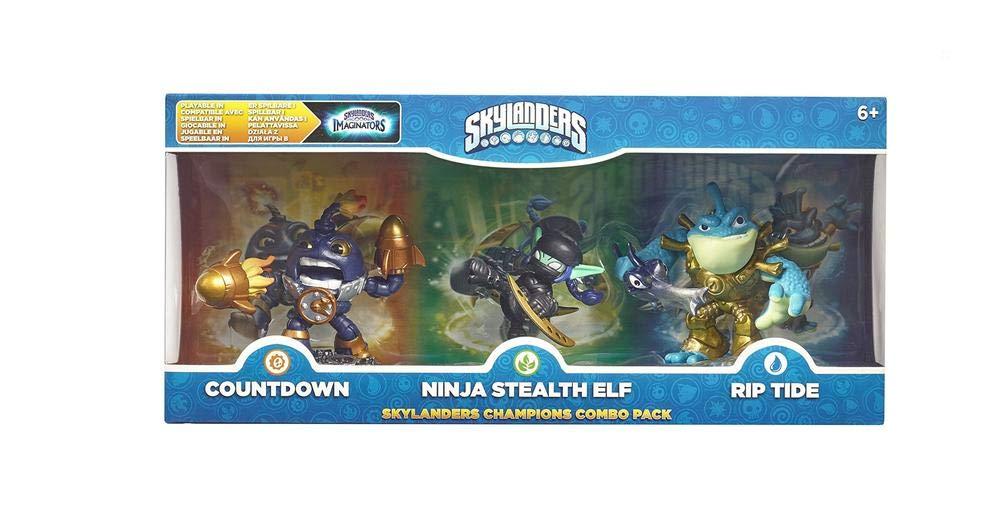 Skylanders Imaginators - Classic Triple Pack - Countdown, Stealth Elf and Rip Tide (Xbox One/PS4/PS3/Xbox 360/Nintendo Wii U)