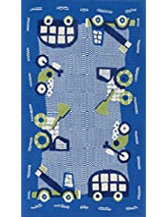 Loloi Rugs, Zoey Collection - Blue / Green Area Rug, 3' x 5'