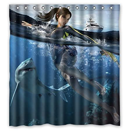 Gmdihz Anime White Shark Custom Create Design Your Own Waterproof