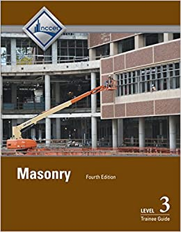 Masonry Level 3 Trainee Guide (4th Edition)