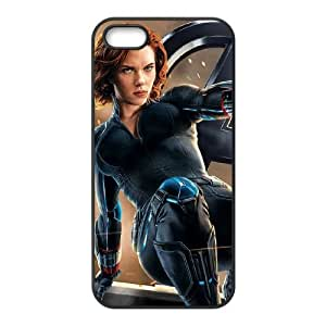 iPhone 4 4s Cell Phone Case Black Black Widow Leaps Into Action VIU178384