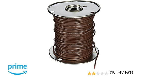 Southwire 64168845 18/3 500-Feet 3 Conductor Thermostat Wire, 18 ...