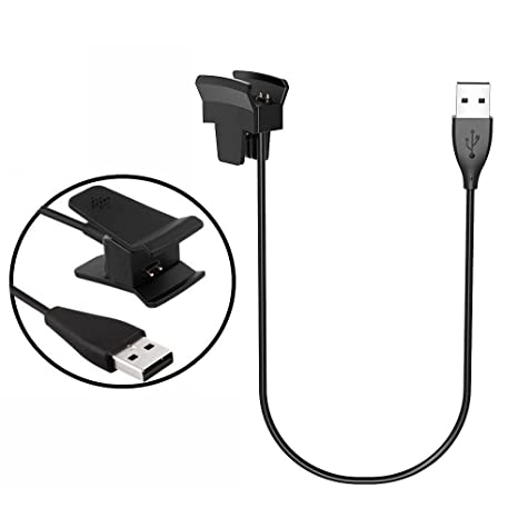 LeSB Fitbit alta carga cable adaptador USB cargador de carga de repuesto Cable de carga para Fitbit alta Smart Fitness reloj sin función de reset (30 ...