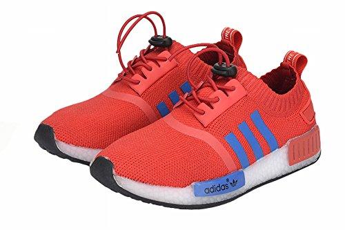 Edad Kid Rojo formación Running Originals NMD R1zapatos, Niños, rojo, UK2.5=EUR33.5=22CM