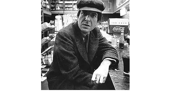 Leonard Cohen You Want It Darker Art Print Poster 13x13: Amazon.es: Hogar