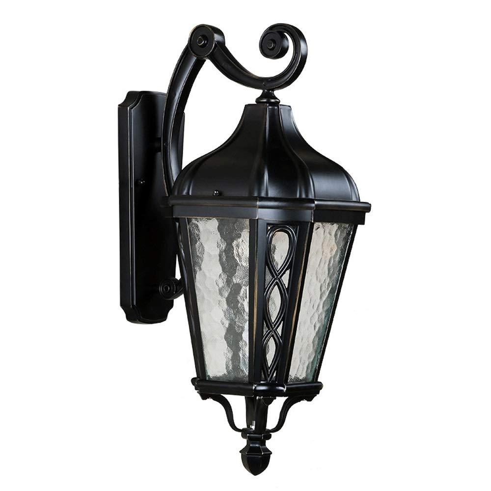 1-Light Outdoor Wandleuchte, Retro Wasserdichte LED Wandlaterne Beleuchtung Lampe Für Außen Villa Tür Veranda Garage Kabine Land Estate Beleuchtung (Design   C-1)