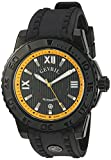 Gevril Seacloud Mens Swiss Automatic Black Rubber Strap Watch, (Model: 3112)