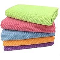 Cabilock 5 peças de toalha de limpeza de microfibra, pano de limpeza de cozinha, pano de limpeza de polimento, panos de…