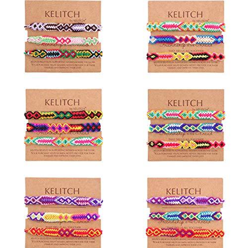 Beaded Friendship Bracelets - KELITCH Bohemia Tassels Cuff Bracelet Handmade