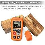 Proster Handheld Wood Moisture Test Meter LCD