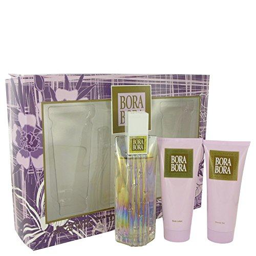 Bórá Bórá Exótíc Perfume For Women Gift Set - 3.4 oz Eau De Parfum Spray + 3.4 oz Body Lotion + 3.4 oz Body Wash