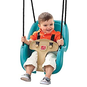 Step2 infant to toddler swing seat durable for Baby garden swing amazon