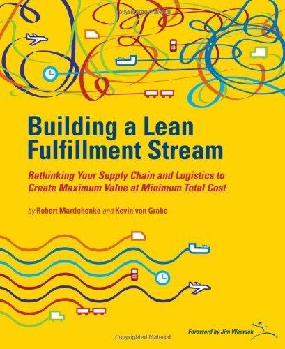 By Robert Martichenko Building a Lean Fullfillment Stream