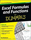 Excel Formulas and Functions for Dummies®, Ken Bluttman, 1118460847