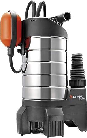 Gardena 01802 - 61 - Bomba sumergible para agua sucia 20000 inox, 1050 W, turquesa, negro, naranja: Amazon.es: Bricolaje y herramientas