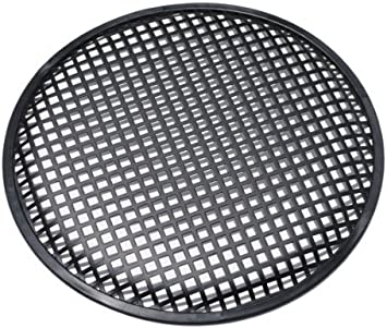 15 Universal 15 Inch Subwoofer Speaker Metal Waffle Cover Guard Grill Pack of 2 Pair