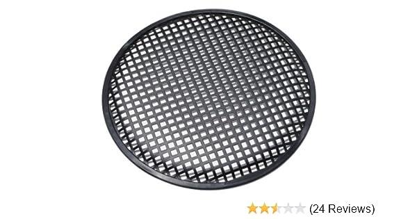 1 Pair 6.5 SubWoofer Mid range Metal Mesh Waffle Speaker Grill DJ PA Car Audio